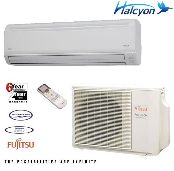 Fujitsu 24cl1 24k Ductless Mini Split Include Hvac